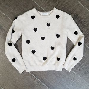 Other - Girl's heart sweater